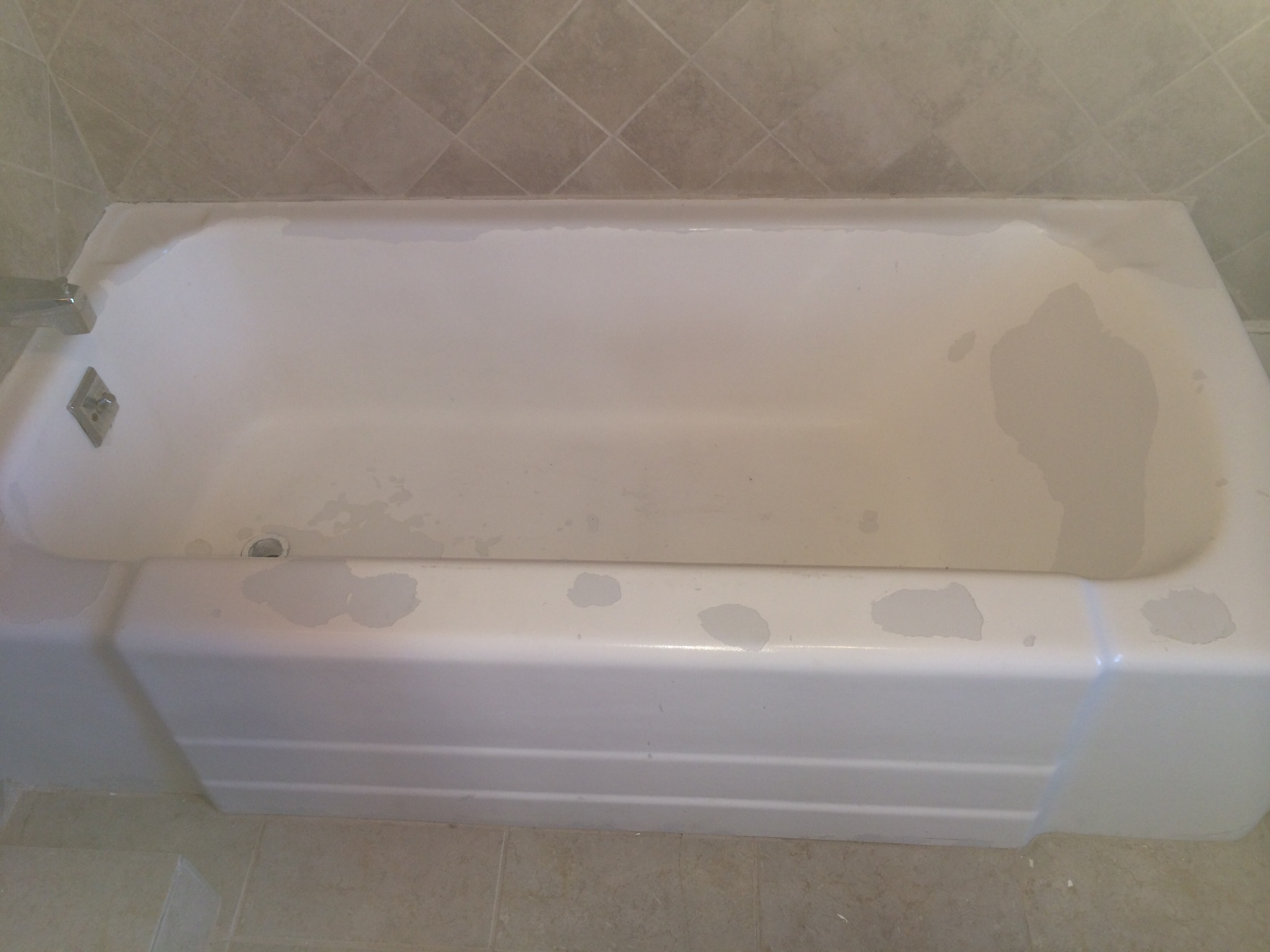 Reglazed tub tub reglazing in denver colorado tub repair for Bathtub refinishing